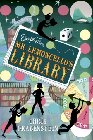 book cover, Escape From Mr. Lemoncello's Library